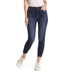 7 for all mankind Cropped Gwenevere Ankle Jeans